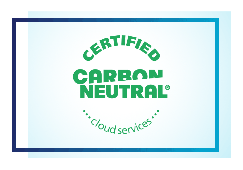 UKCloud Health is a certified carbon neutral cloud services provider
