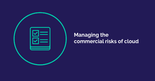 Managing the commercial risks of cloud