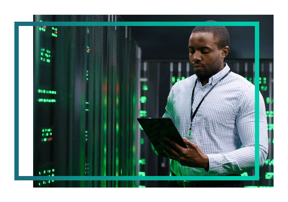 A defence multi-cloud specialist in a datacentre