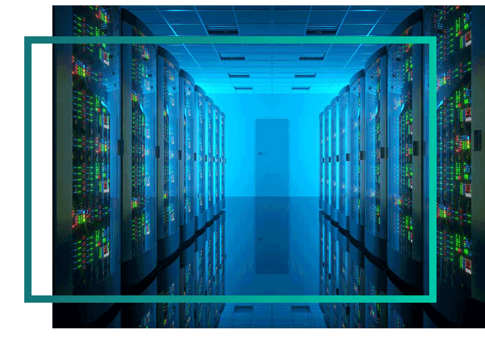 Servers in a public sector datacentre