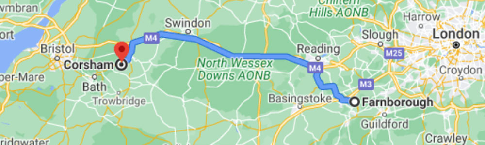 Our UK-based data centres are over 100km apart