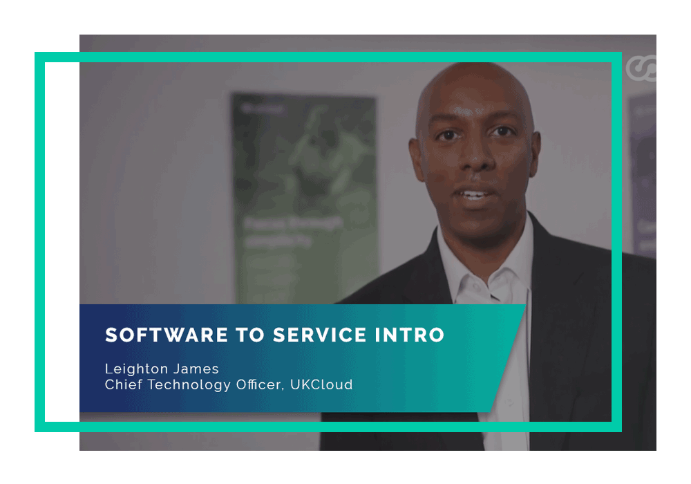 Software to Service video intro