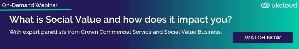Webinar: What is Social Value and how does it impact you? - Watch now!