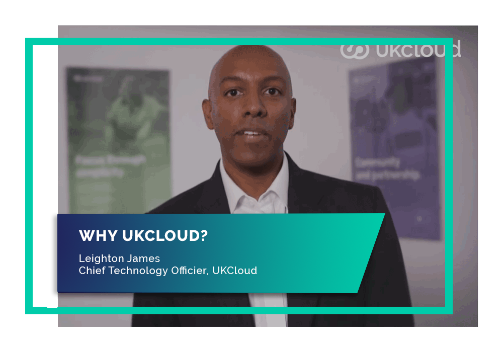Our CTO explains why UKCloud is the safe, forward-thinking choice