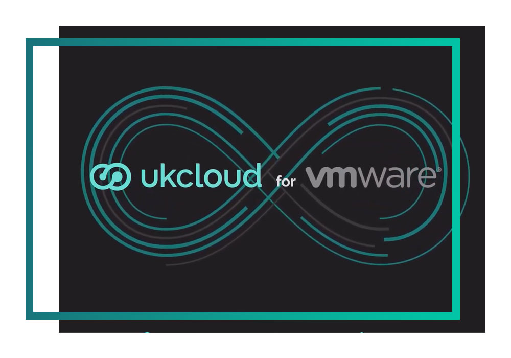 A still taken from the UKCloud for VMware video showing both logos